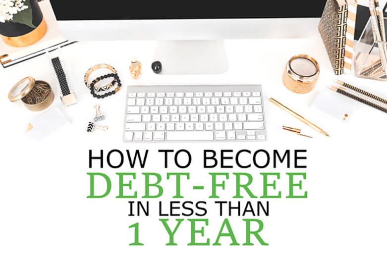 How-To-Become-Debt-Free-On-A-Low-Income
